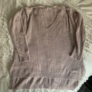 Madewell Light Pink Sweater